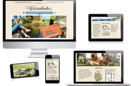 Singlepage Webdesign